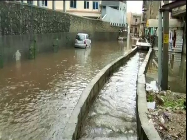 Incessant rains in Ajmer on Sunday have caused waterlogging
