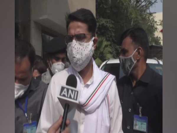 Congress leader and former Deputy Chief Minister Sachin Pilot (Photo/ANI)