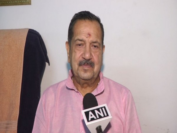 RSS leader Indresh Kumar while speaking to ANI on Monday (Photo/ANI)