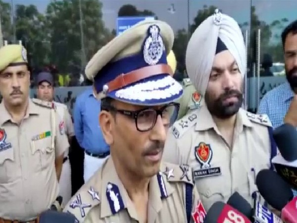 Arun Kumar Mittal, IG Bathinda range speaking to reporters on Wednesday in Bathinda. Photo/ANI
