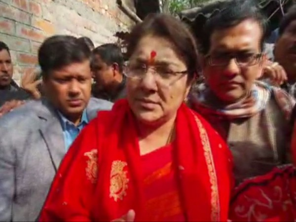 BJP leader and MP Locket Chatterjee (Photo/ANI)