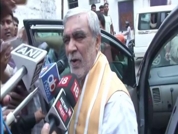 Union minister Ashwini Kumar Choubey