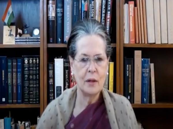 Congress interim President Sonia Gandhi.