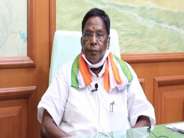 Puducherry Chief Minister V Narayanasamy (Photo/ANI)