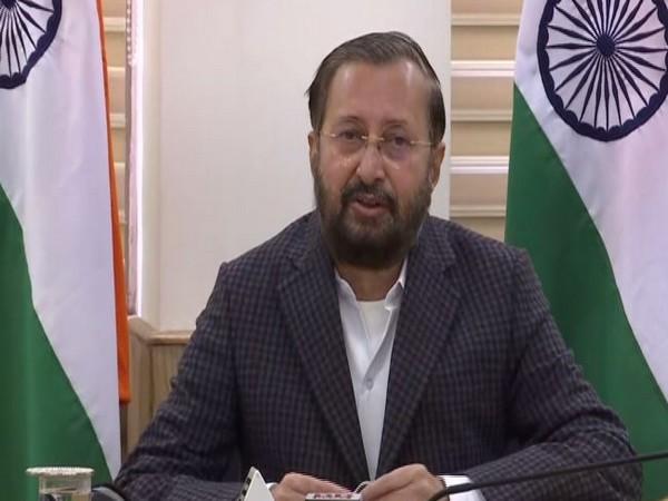 Information and Broadcasting Minister Prakash Javadekar (Photo/ANI)