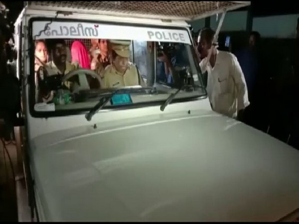 Police took the prime accused in the multiple murder case to the site of incidents for the second time in four days to collect evidence. Photo/ANI