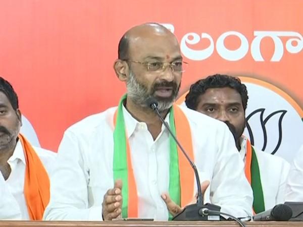Bharatiya Janata Party (BJP)'s Telangana unit president Bandi Sanjay Kumar (Photo/ANI)