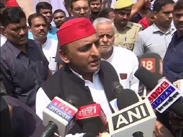 Samajwadi Party Chief Akhilesh Yadav. Photo/ANI