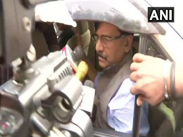 Shiv Sena leader while speaking to the media on Tuesday (Photo/ANI)