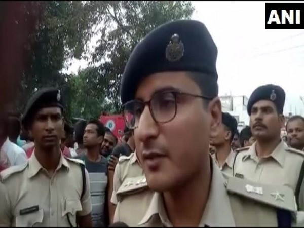 Vishal Sharma, Superintendent of Police (SP), Purnia, while speaking to ANI on Monday (Photo/ANI)