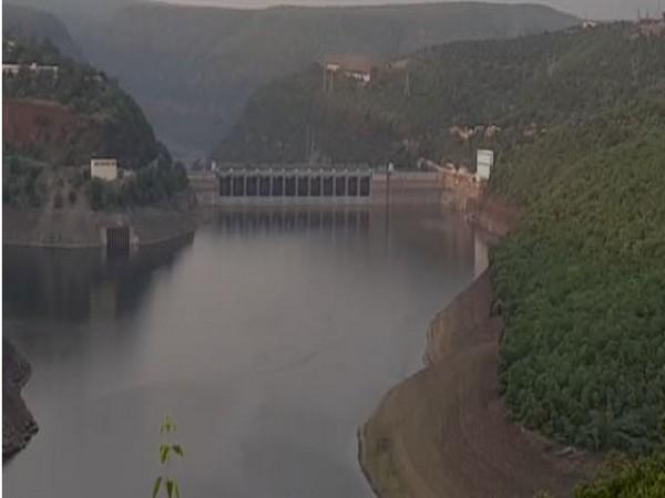 Srisailam reservoir in Kurnool district in Andhra Pradesh. Photo/ANI