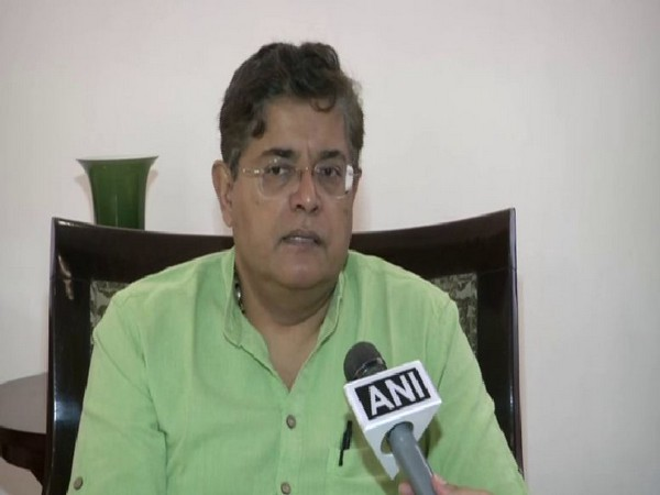 National vice president of BJP, Baijayant Panda speaking to ANI on Wednesday in New Delhi. Photo/ANI