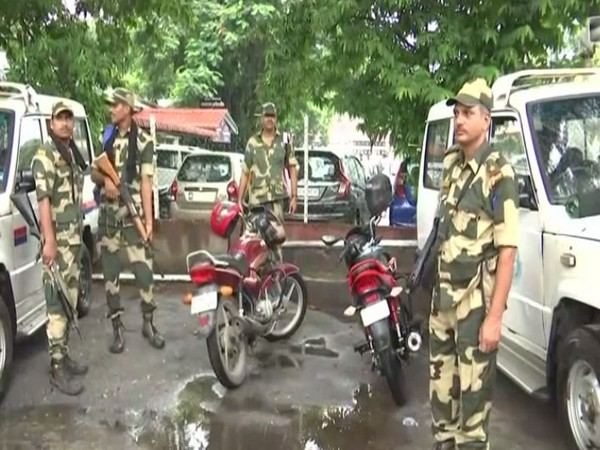 Security beefed up in the state ahead of NRC final publication on August 30. (Photo/ANI)