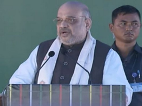 Union Home Minister Amit Shah (Photo courtesy: DD channel YouTube)