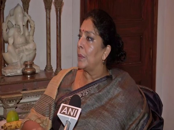 Congress leader and former Union Minister Renuka Chowdhary speaking to ANI on Saturday. Photo/ANI