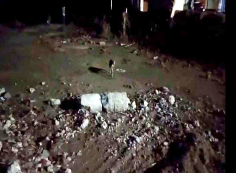 A visual from the incident site in Balasore district [Photo/ANI]