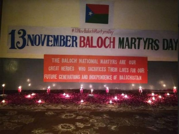 The Baloch on November 13 pay respect to those Baloch activists who sacrificed their lives for the freedom of Balochistan.