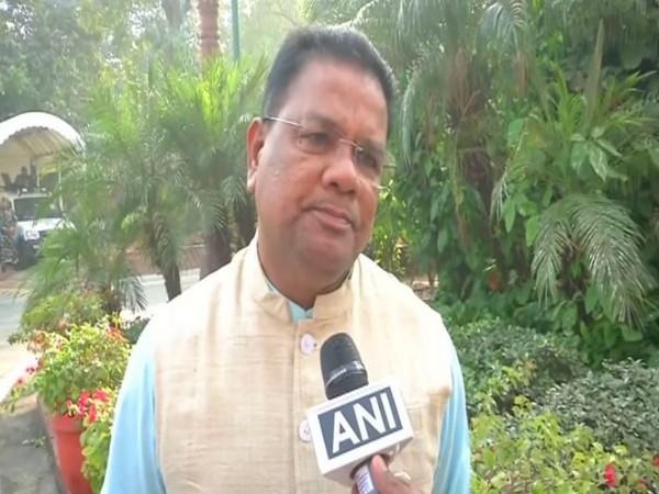 Congress leader Ripun Bora speaking to ANI on Tuesday in New Delhi. Photo/ANI