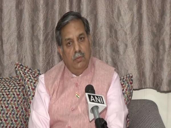 D P Singh, UGC Chairman speaking to ANI on Sunday (Photo/ANI)