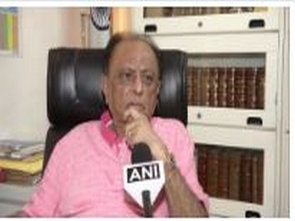 NCP leader Majeed Memon in conversation with ANI on Saturday. Photo/ANI