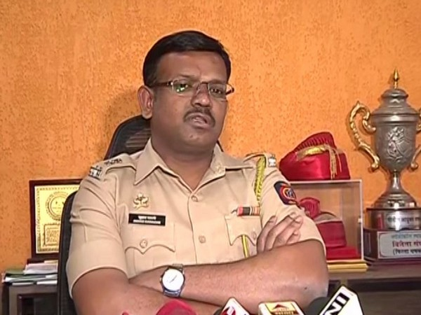 Deputy Commissioner of Police, Suhas Bawche. (photo: ANI)