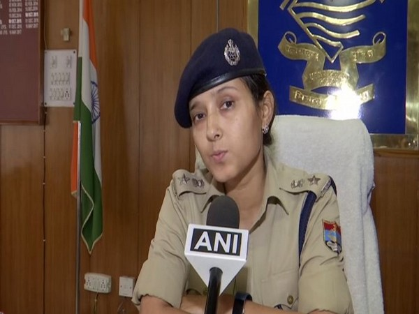 Senior Superintendent of Police (SSP) Nivedita Kukreti speaking to ANI on Friday. Photo/ANI
