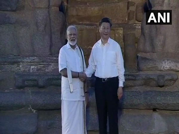 Prime Minister Narendra Modi and Chinese President Xi Jinping (Photo/ANI)