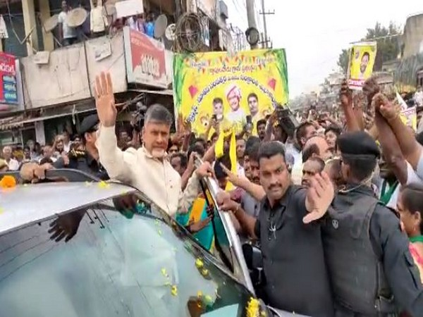 TDP Chief N Chandrababu Naidu (Photo/ANI)