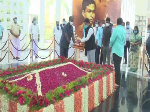 Visual from Dr APJ Abdul Kalam National Memorial, Peikarumbu in Rameshwaram (Photo/ANI)