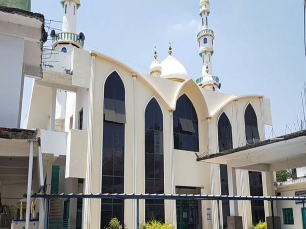 A mosque in Chittoor district, Andhra Pradesh.