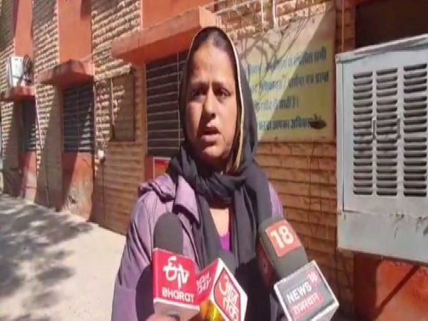 Sultana while speaking to reporters on Tuesday (Photo/ANI)