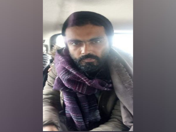Sharjeel Imam after being arrested by Delhi police in Jehanabad, Bihar, on Tuesday (Photo/ANI)