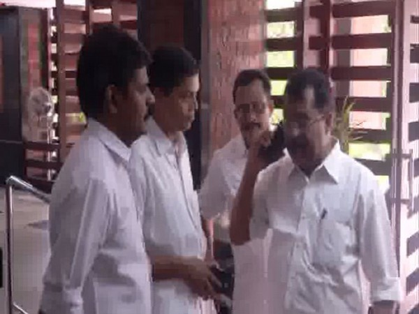 PS Sreedharan with other party leaders during the core committee meeting