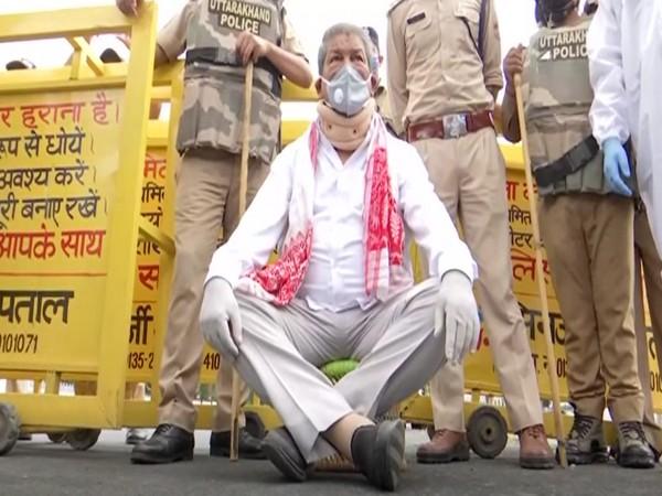 Congress General Secretary and former Uttarakhand chief minister Harish Rawat (Photo/ANI)