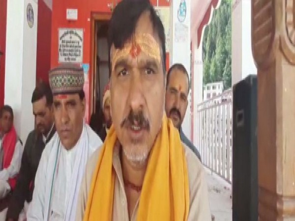 Suresh Somwal, president of Gangotri Dham temple committee talking to ANI.