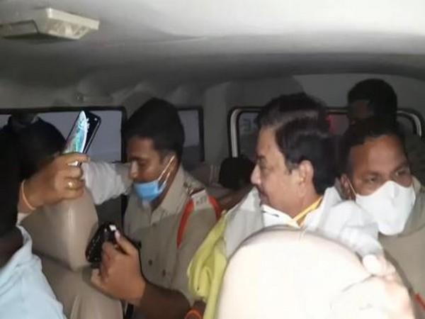 TDP leader and former minister Kimidi Kala Venkatrao was arrested on Wednesday (Photo/ANI)