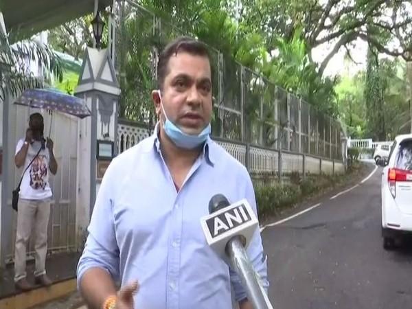 Independent MLA Rohan Khaunte speaking to ANI in Panaji on Monday. (Photo/ANI)