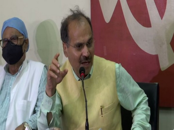 Congress leader Adhir Ranjan Chowdhury (Photo/ANI)
