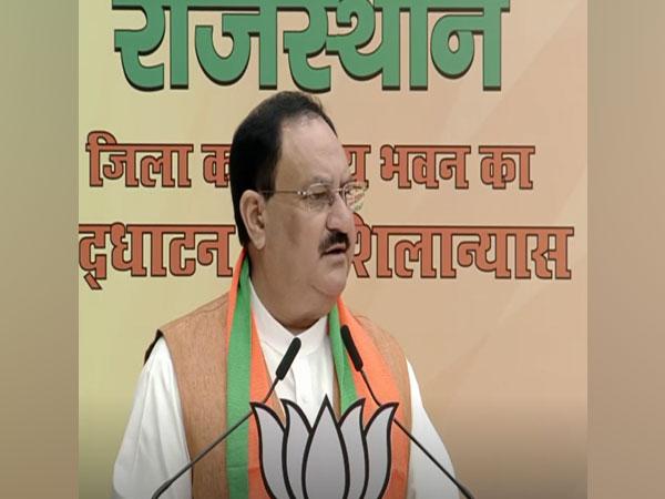 Bharatiya Janata Party (BJP) chief JP Nadda. (Photo/ANI)
