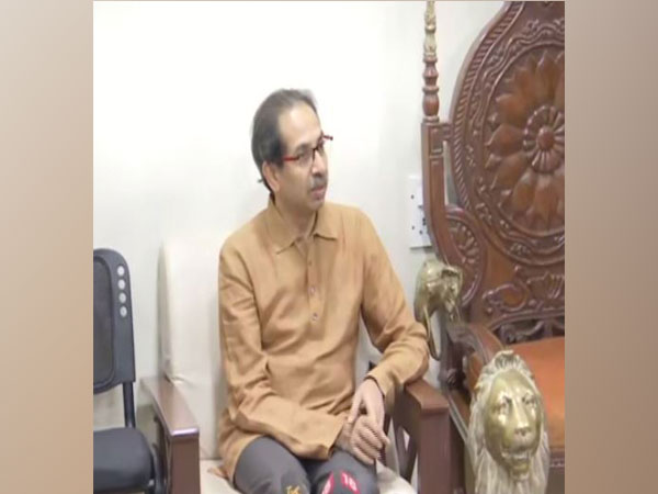Uddhav Thackeray, Shiv Sena Chief while addressing media on Monday. (Photo/ANI)