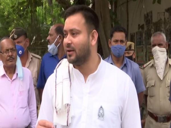 Rashtriya Janata Dal (RJD) leader Tejashwi Yadav. (Photo/ANI)