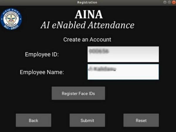 Research Centre Imarat (RCI), DRDO has successfully developed AI based Attendance Application (AINA) (Photo/ANI)