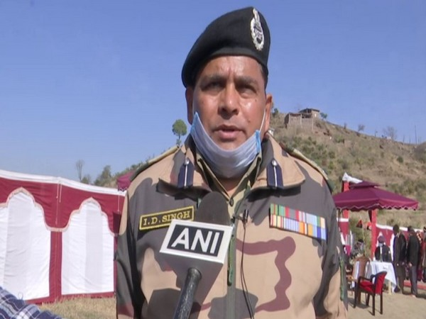BSF Rajouri DIG, ID Singh. (Photo/ANI)