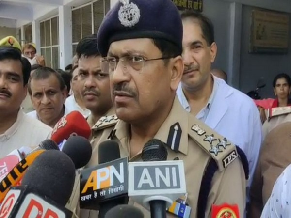 Rajesh Kumar Pandey, Additional Director General (ADG) of Police (DGP), Bareilly while speaking to ANI on Tuesday. (Photo/ANI)