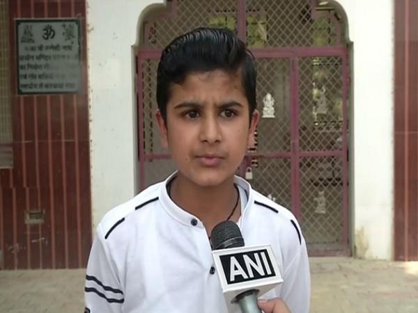 12-year-old Gurmeet Goyat speaking to ANI in Jind on Tuesday.