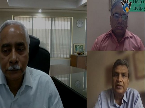 Dr Sujeet K Singh, Dr Anurag Agarwal and Dr Saumitra Das (clockwise from top right)