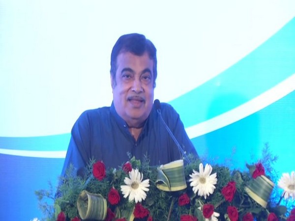 Union Minister Nitin Gadkari while speaking at an event in Nagpur on Sunday. Photo/ANI