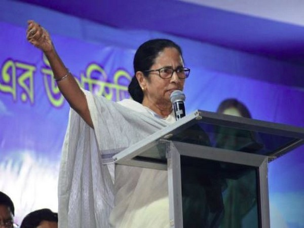 Chief Minister Mamata Banerjee while addressing a public rally in Siliguri (Photo/ANI)