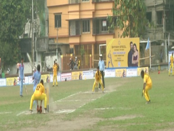 Cricket tournament for blinds in Siliguri (Photo/ANI)