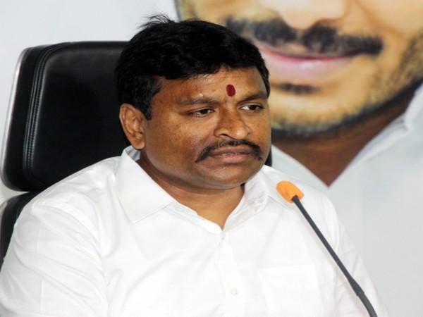 Andhra Pradesh Endowments Minister Vellampalli Srinivas (Photo/ANI)